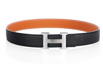 Hermes 50mm Clemence Leather Belt HB112-9