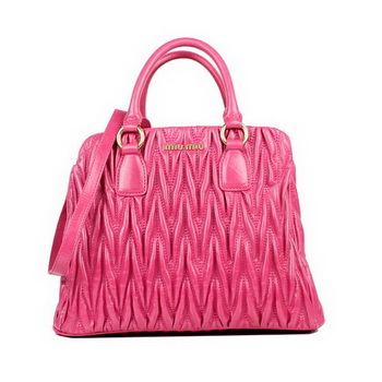 miu miu Mateleasse Top Handle Bags 88059 Pink