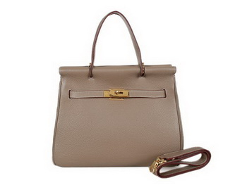 Hermes Spring Summer 2013 Shopping Bag H115123 Dark Grey