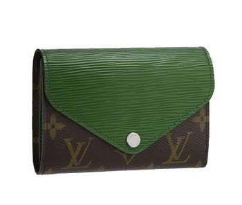 Louis Vuitton Monogram Canvas Marie-Lou Compact Wallet Menthe M60492 Menthe