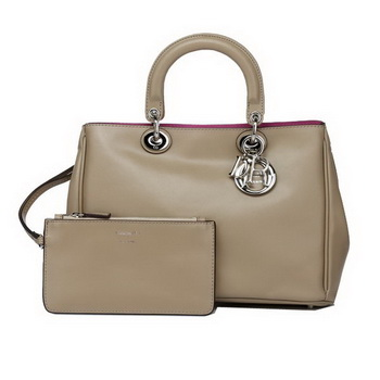 Dior Small Diorissimo Bag Nappa Leather D0902 Khaki