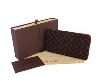 Louis Vuitton Monogram Idylle Zippy Wallet M63010 Brown