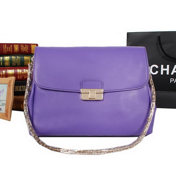 Dior DIORLING Bag Calf Leather M9816 Light Purple