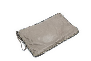 Stella McCartney Falabella Fold Over Clutch 832 Khaki