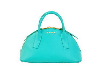 miu miu Original Leather Top-handle Bag RN0091 Green
