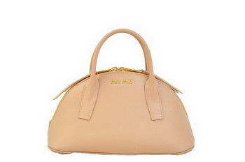 miu miu Original Leather Top-handle Bag RN0091 Light Pink