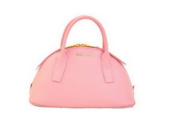 miu miu Original Leather Top-handle Bag RN0091 Pink