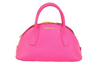 miu miu Original Leather Top-handle Bag RN0091 Rose