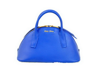 miu miu Original Leather Top-handle Bag RN0091 RoyalBlue