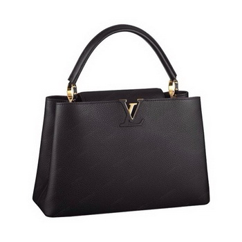 Louis Vuitton Elegant Capucines Bag MM