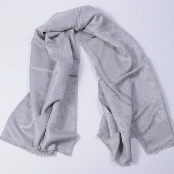 Louis Vuitton Scarves Cotton WJLV092 Gray