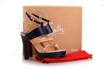 Christian Louboutin 120mm Sandals CL10303 Royalblue