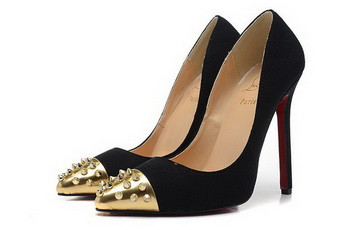 Christian Louboutin Geo Pump 120mm CL1310 Black Suede