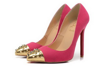 Christian Louboutin Geo Pump 120mm CL1310 Rose Suede
