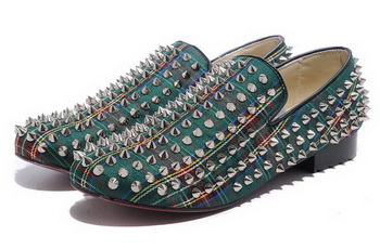 Christian Louboutin Rollerboy Spikes CL745 Green
