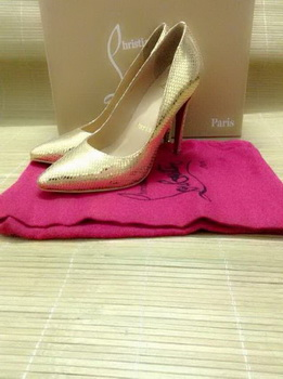 Christian Louboutin So Kate 110mm Pump CL10305 Gold