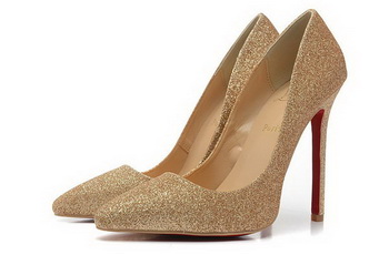 Christian Louboutin So Kate 120mm Pump CL1350 Gold