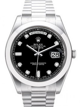 Rolex Day Date II Watch 218206A