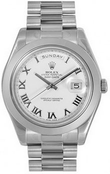 Rolex Day Date II Watch 218206D