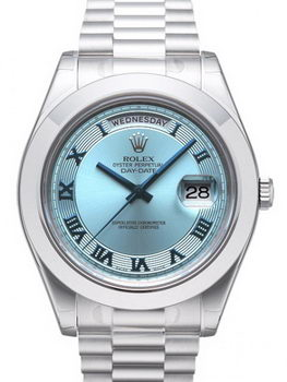 Rolex Day Date II Watch 218206F