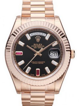 Rolex Day Date II Watch 218235A