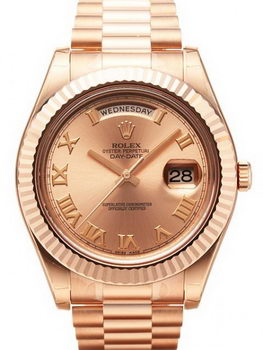 Rolex Day Date II Watch 218235F