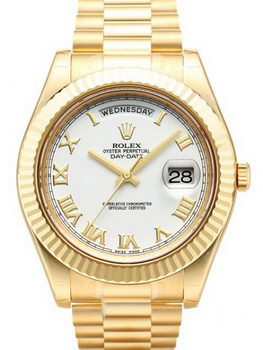 Rolex Day Date II Watch 218238B