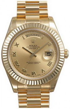 Rolex Day Date II Watch 218238C