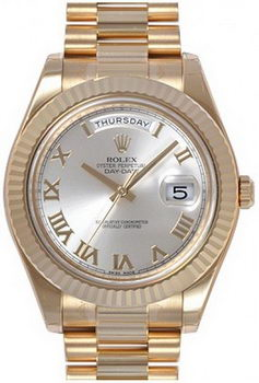 Rolex Day Date II Watch 218238D