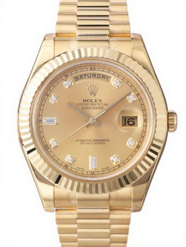 Rolex Day Date II Watch 218238F