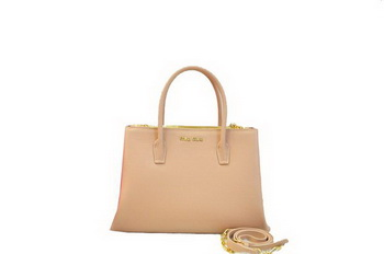 miu miu Original Leather Three Pocket Bag RN0941 Apricot