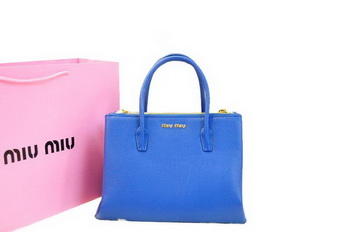 miu miu Original Leather Three Pocket Bag RN0941 RoyalBlue
