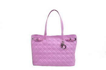 Dior Soft Tote Bag in Sheepskin D9618 Plum