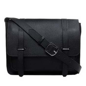 Hermes Etriviere Messenger Bag Togo Leather H1069 Black
