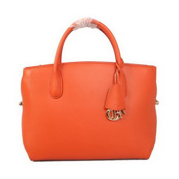 Dior DiorBar Large Top Handle Bag Original Leather D17014 Orange