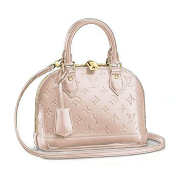 Louis Vuitton Monogram Vernis Alma BB M90064 Rose Angelique