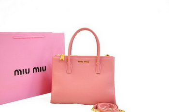 miu miu Original Leather Three Pocket Bag RN0941 Pink