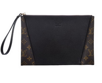 Louis Vuitton Monogram Canvas Clutch M60607