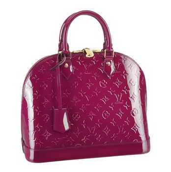 Louis Vuitton Monogram Vernis Alma MM M90098 Indian Rose
