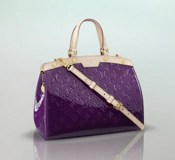 Louis Vuitton Monogram Vernis Brea MM M90106 Amethyste