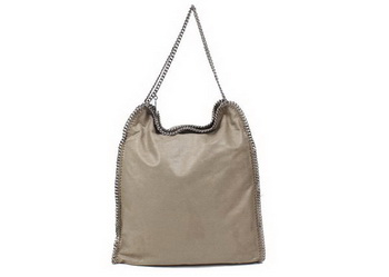 Stella McCartney Falabella Large Clutch 839 Khaki