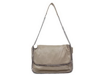 Stella McCartney Falabella PVC Cross Body Bag 838 Khaki