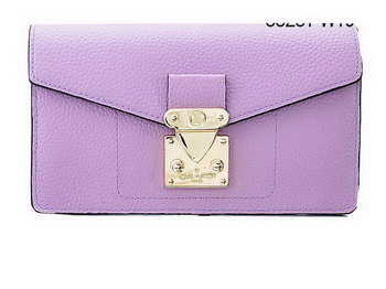 Louis Vuitton Veau Cachemire Leather Dauphine Wallet M58251 Lavender