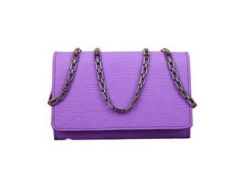 Louis Vuitton Epi Leather Chaine Wallet M90087 Lavender
