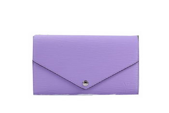 Louis Vuitton Epi Leather Josephine Wallet M60710 Lavender