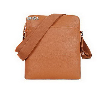 Hermes Messenger Bag Original Calf Leather H8589 Wheat