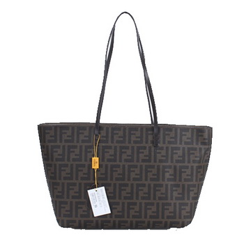 Fendi Classic Shopping Bag in Fabric Logo FD2593S Khaki