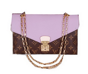 Louis Vuitton Monogram Canvas Pallas Chain Bag M41200 Lavender