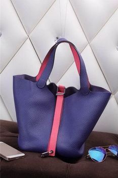 Hermes Picotin Lock MM Bag in Grainy Leather H610M Royal&Rose