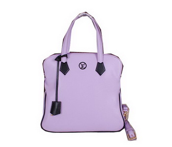 Louis Vuitton Cruise 2015 Smooth Leather Tote Bag M40172 Lavender